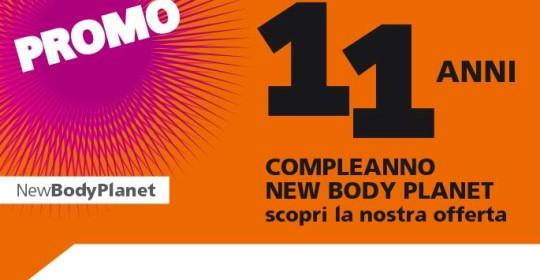 Compleanno New Body Planet 11 anni di attività