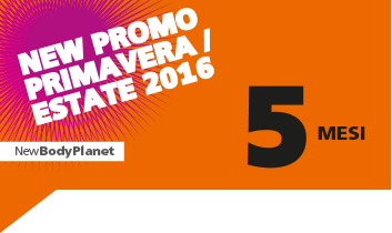 New promo primavera / estate 2016