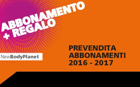 PREVENDITA ABBONAMENTI 2016 – 2017